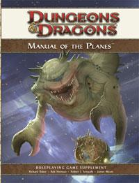D&D Dungeons & Dragons 4th Edition Manual of the Planes