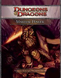 D&D Dungeons & Dragons 4th Edition Martial Power