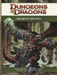 D&D Dungeons & Dragons 4th Edition Monster Manual