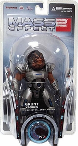 DC Direct Mass Effect 2 Series 1 Action Figure Grunt