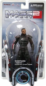 DC Direct Mass Effect 2 Series 1 Action Figure Shepard