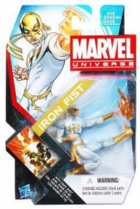 Marvel Universe 3 3/4 Inch Series 17 Action Figure #06 Iron Fist