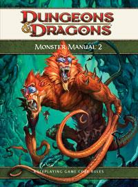 D&D Dungeons & Dragons 4th Edition Monster Manual 2