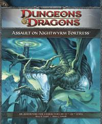 D&D Dungeons & Dragons 4th Edition P3 Assault on Nightwyrm Fortress