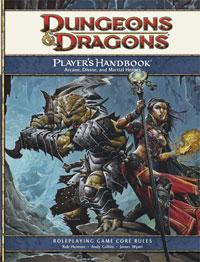 D&D Dungeons & Dragons 4th Edition Players Handbook
