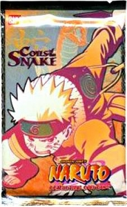 Naruto Card Game Coils of the Snake Booster Pack