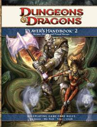 D&D Dungeons & Dragons 4th Edition Players Handbook 2