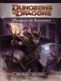 D&D Dungeons & Dragons 4th Edition H3 Pyramid of Shadows