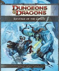 D&D Dungeons & Dragons 4th Edition Revenge of the Giants