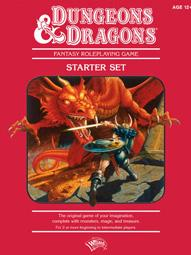 D&D Dungeons & Dragons 4th Edition D&D Roleplaying Game Starter Set