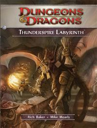 D&D Dungeons & Dragons 4th Edition H2 Thunderspire Labyrinth