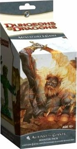D&D Dungeons & Dragons 4th Edition Trading Miniatures Game 2.0 HUGE Booster Pack Against the Giants