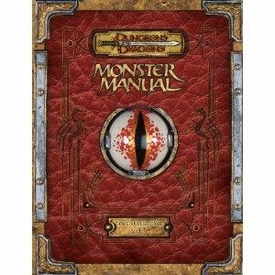 D&D Dungeons & Dragons Premium Monster Manual Guide V3.5