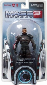 Big Fish Mass Effect 3 Series 1 Action Figure Commander Shepard