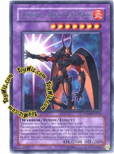 YuGiOh GX Duelist Pack Jaden Yuki 2 Single Card Rare DP03-EN013 Elemental Hero Flare Neos
