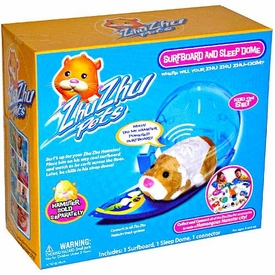 Zhu Zhu Pets Accessory Set Surfboard & Sleep Dome[Hamster NOT Included!]