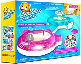 Zhu Zhu Pets Deluxe Playset Hamster & Hamster Funhouse [Includes Exclusive Patches the Hamster!]