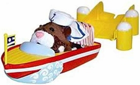 Zhu Zhu Pets Accessory Set Speed Boat & Dock[Hamster NOT Included!]