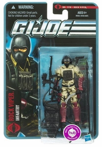 GI Joe Pursuit of Cobra 3 3/4 Inch Action Figure Rock Viper [Infantry]