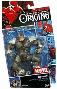 Spider-Man Hasbro Origins Action Figure Villains Series 1 Rhino