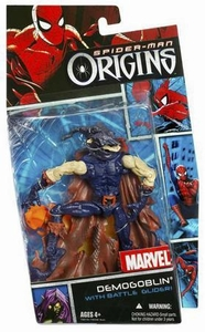 Spider-Man Hasbro Origins Action Figure Villains Series 1 Demogoblin