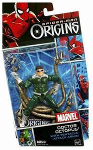 Spider-Man Hasbro Origins Action Figure Villains Series 1 Doc Ock