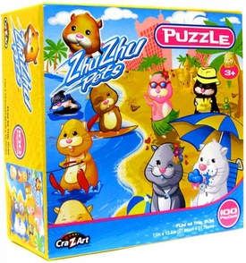 Zhu Zhu Pets Puzzle Fun In The Sun