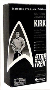 Art Asylum Star Trek The Original Series Exclusive Premier Edition Captain James T. Kirk