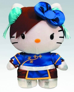 Sanrio X Street Fighter 10 Inch Plush Chun Li  Pre-Order ships July