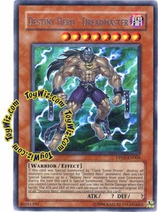 YuGiOh GX Duelist Pack Aster Phoenix Single Card Rare DP05-EN004 Destiny Hero - Dreadmaster