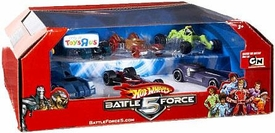 Hot Wheels Battle Force 5 Exclusive 1:64 Scale Die Cast Car 7-Pack