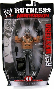 WWE Wrestling Ruthless Aggression Series 44 Action Figure Rey Mysterio BLOWOUT SALE!