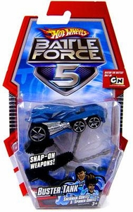 Hot Wheels Battle Force 5 1:64 Scale Die Cast Car Buster Tank