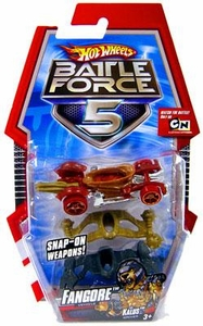Hot Wheels Battle Force 5 1:64 Scale Die Cast Car Fangore