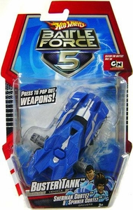 Hot Wheels Battle Force 5 1:43 Scale Mini Battle Car Buster Tank