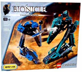 LEGO Bionicle Set #8549 Tarakava Damaged Package, Mint Contents!