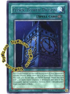 YuGiOh GX Duelist Pack Aster Phoenix Single Card Rare DP05-EN016 Clock Tower Prison