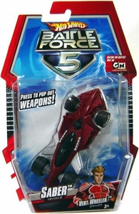 Hot Wheels Battle Force 5 1:43 Scale Mini Battle Car Saber