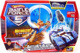 Hot Wheels Battle Force 5 Battlekey Blast Track Set