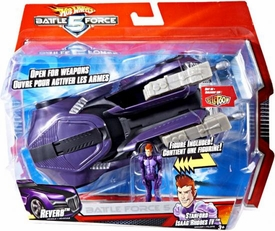 Hot Wheels Battle Force 5 1:24 Scale Vehicle & Figure Stanford Isaac Rhodes IV & Reverb