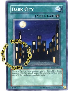 YuGiOh GX Duelist Pack Aster Phoenix Single Card Common DP05-EN019 Dark City