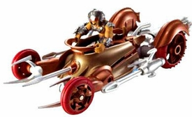 Hot Wheels Battle Force 5 1:24 Scale Vehicle & Figure Captain Kalus & Fangore