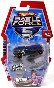 Hot Wheels Battle Force 5 1:64 Scale Die Cast Car Reverb [Special Battle Zone Edition]