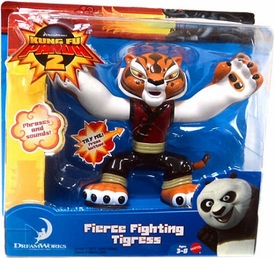 Kung Fu Panda 2 Talking Action Figure Fierce Fighting Tigress
