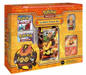 Pokemon Black & White Card Game Evolution Starter Box Excellent Emboar