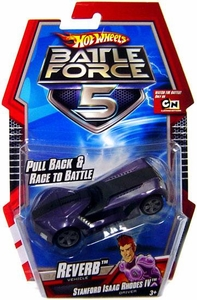 Hot Wheels Battle Force 5 1:64 Scale Pull Back Car Reverb