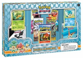 Pokemon Card Game Double Album Box [Includes 5 Booster Packs, 3 Promo Cards & 2 Mini Binders]
