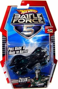 Hot Wheels Battle Force 5 1:64 Scale Pull Back Car Zelix