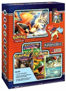 Pokemon Black & White Card Game Keldeo Box [3 Booster Packs, 2 Holo Promo Cards & 1 Legendary Figure]