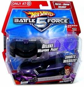 Hot Wheels Battle Force 5 Exclusive Deluxe Weapons Pack Reverb